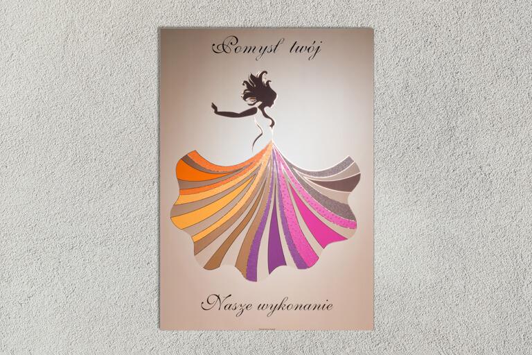 Plakat tancerka